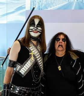 Conflicting Expressions - Kiss Army Members?