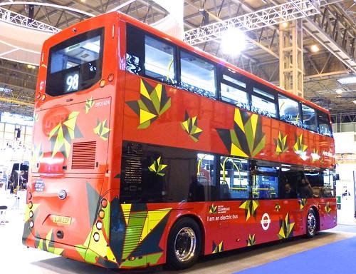 LJ16 EZP 'Metroline' No. BYD1474 BYD K8SR / BYD /4 on Dennis Basford's railsroadsrunways.blogspot.co.uk