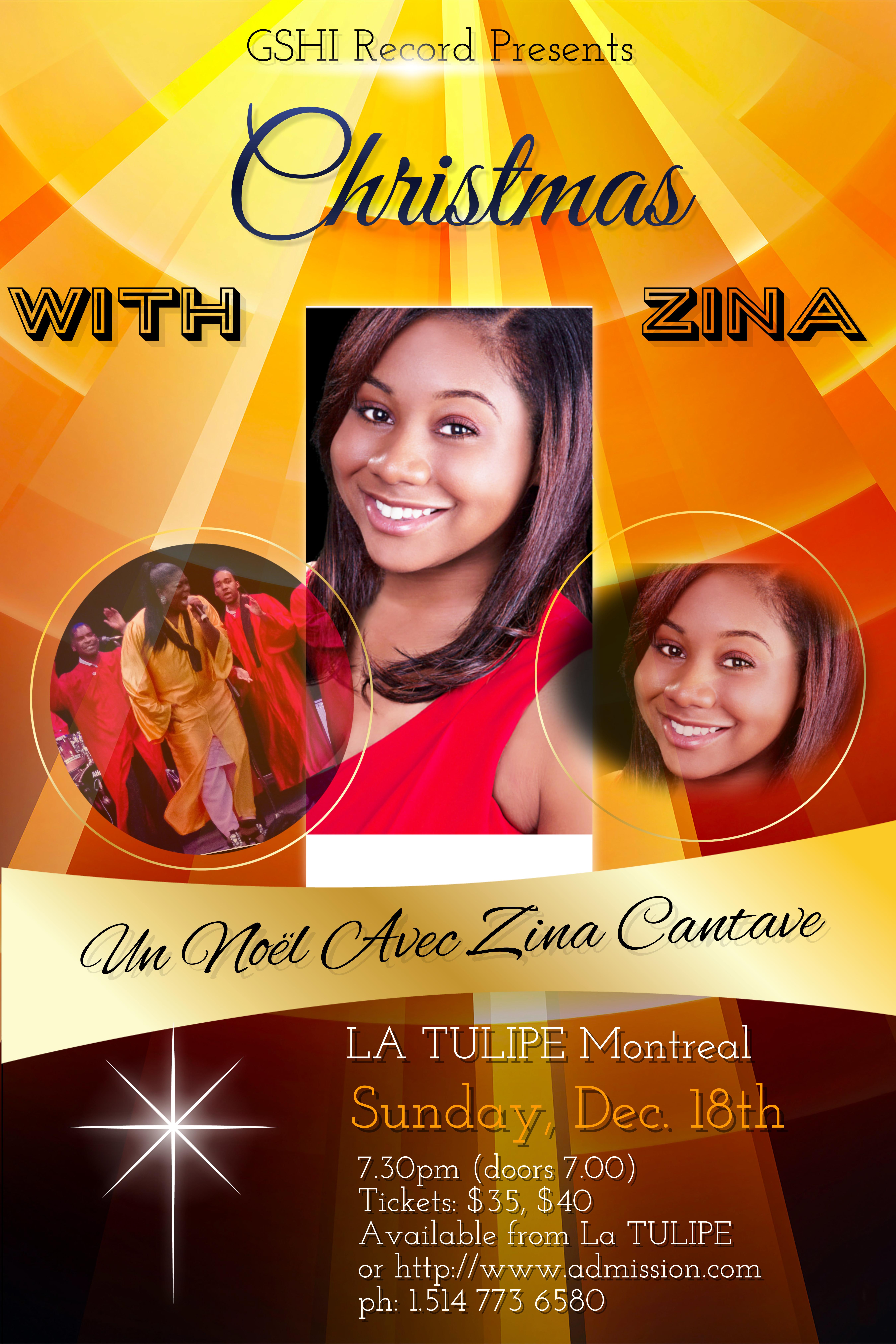 Christmas With Zina