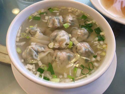 上海ワンタンを食べに萬来亭【横浜中華街】