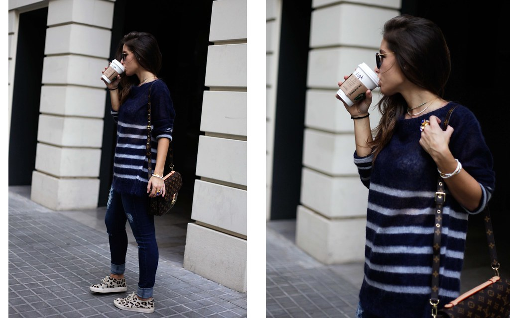 06_CASUAL_OUTFIT_LEOPARD_AND_STRIPES_BLOGGER_BARCELONA_THEGUESTGIRL