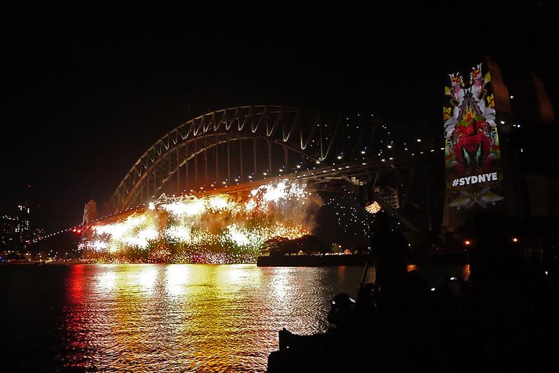 雪梨跨年煙火