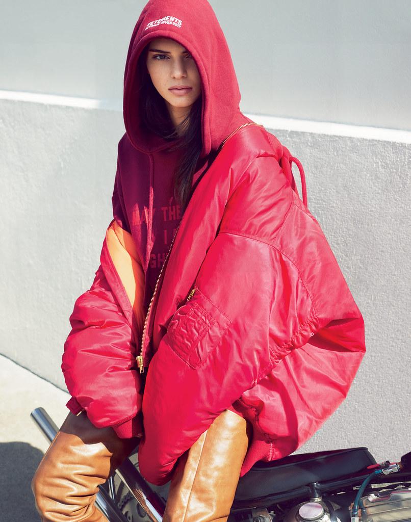 Кендалл Дженнер — Фотосессия для «Vogue» 2016 – 9