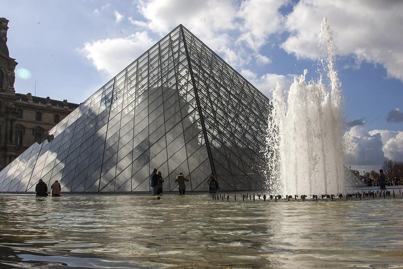 louvre, paris, sprache lernen, Sprachbarierre
