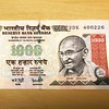 One Thousand Rupees Reserve Bank of India