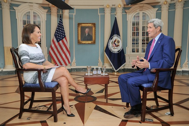 Secretary Kerry Speaks About Embassy Havana Opening, Cuba Policy With Univision's Salinas