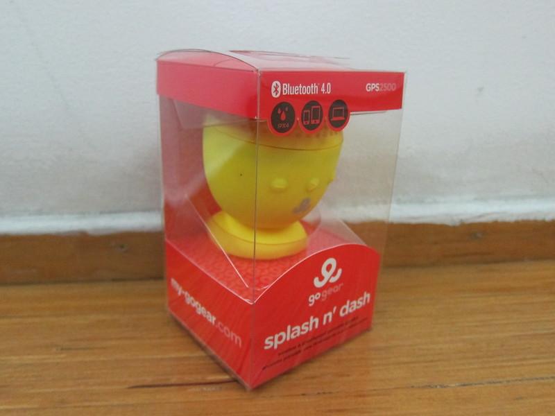 GoGear Splash n Dash Bluetooth Speaker - Box
