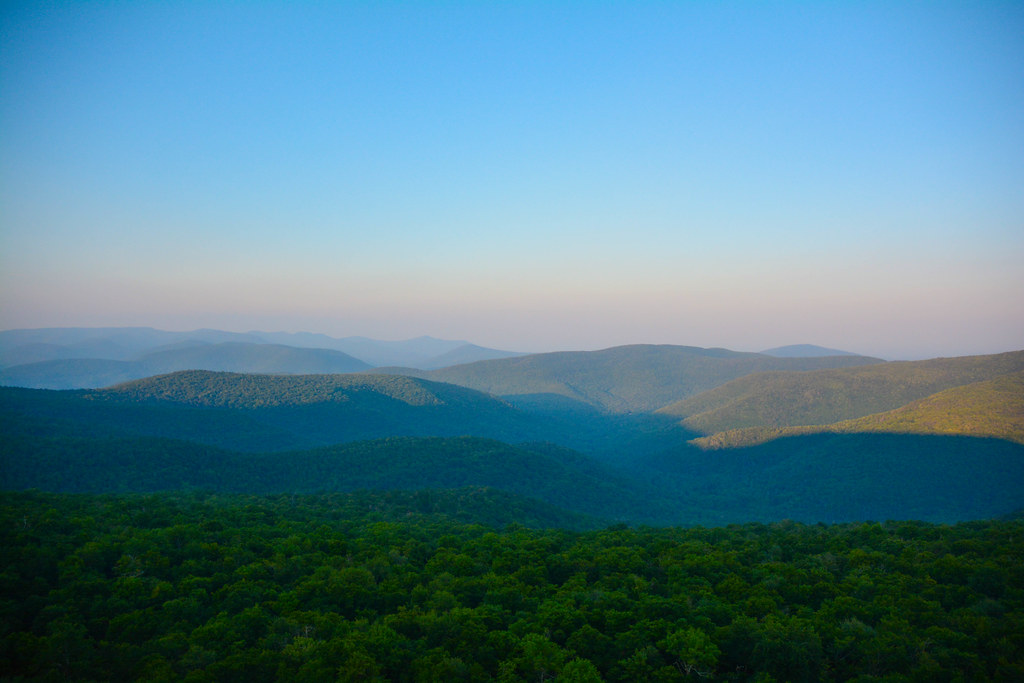 Hiking in the Catskill Mts