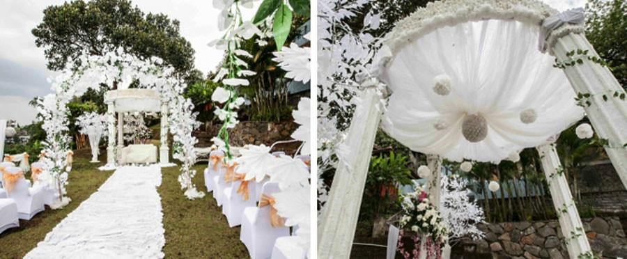 dago wedding collage