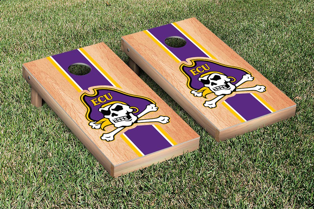 East Carolina University Pirates Stripe Hardcourt Version