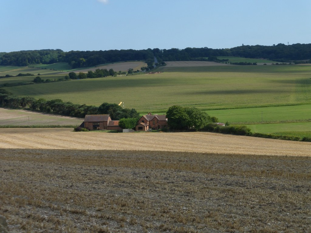 View mid afternoon SWC Walk 242 Cholsey to Goring via Wallingford