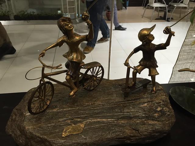 Castrillo brass sculpture