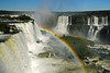 Rainbow over Iguazu Falls, Argentina by [cation]