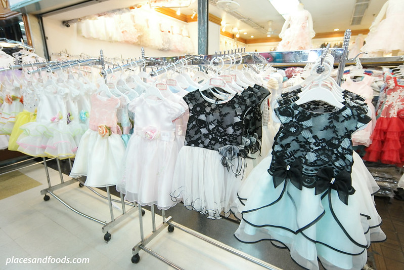 bobae tower shopping mall small girls clothes