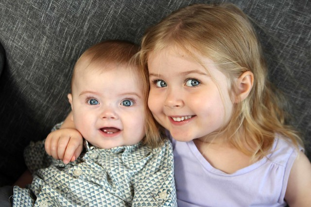 Finn and his sister