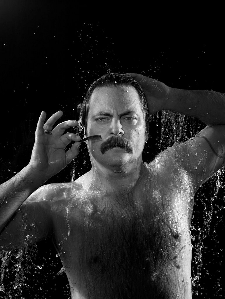 Nick Offerman by Chris Buck