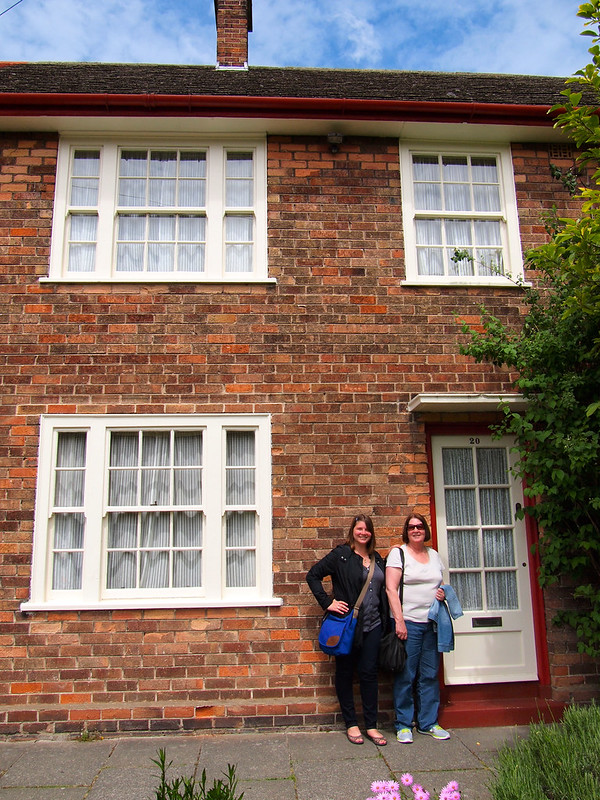 At Paul McCartney's childhood home in Liverpool