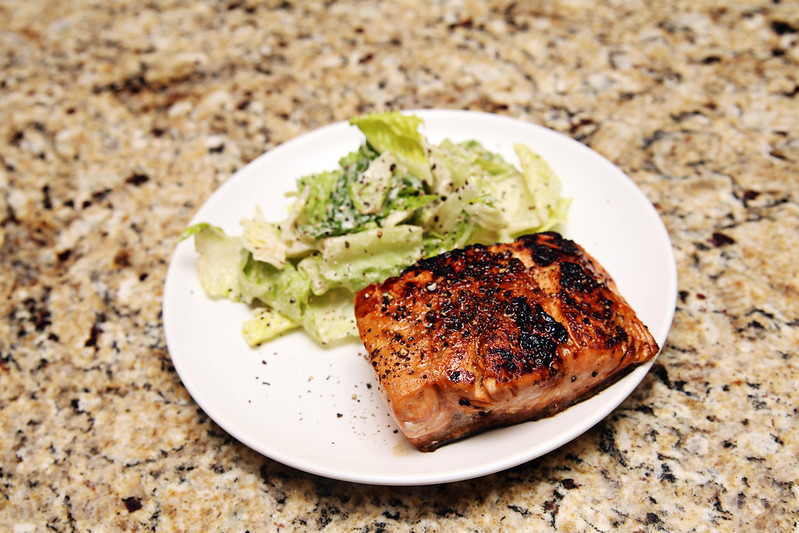 Maple Lemon Salmon