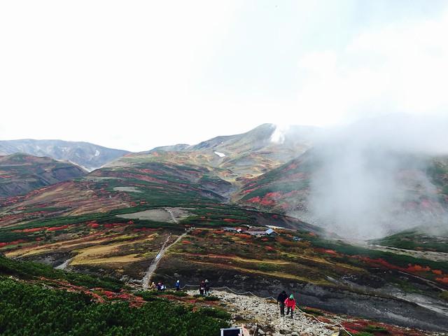陡上至黑岳