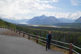 045 Uitzicht op Matanuska gletsjer