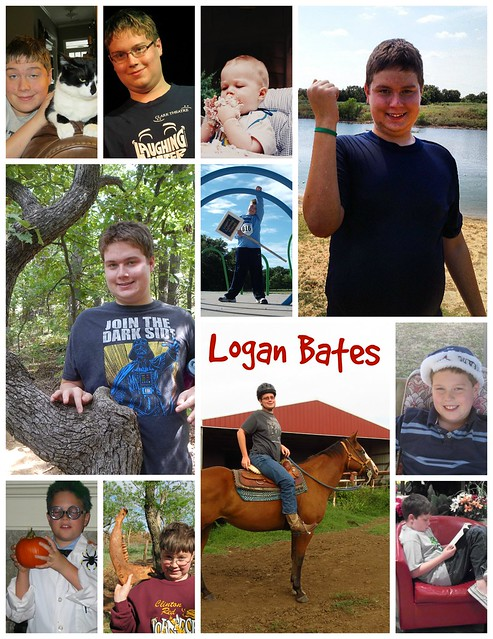 Logan's Senior Year Collage