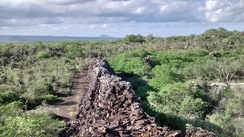 Muro de  lamentos, Isla Isabela