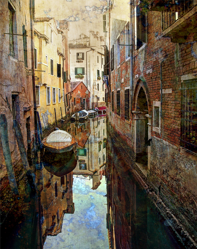 The Textures Of Venice