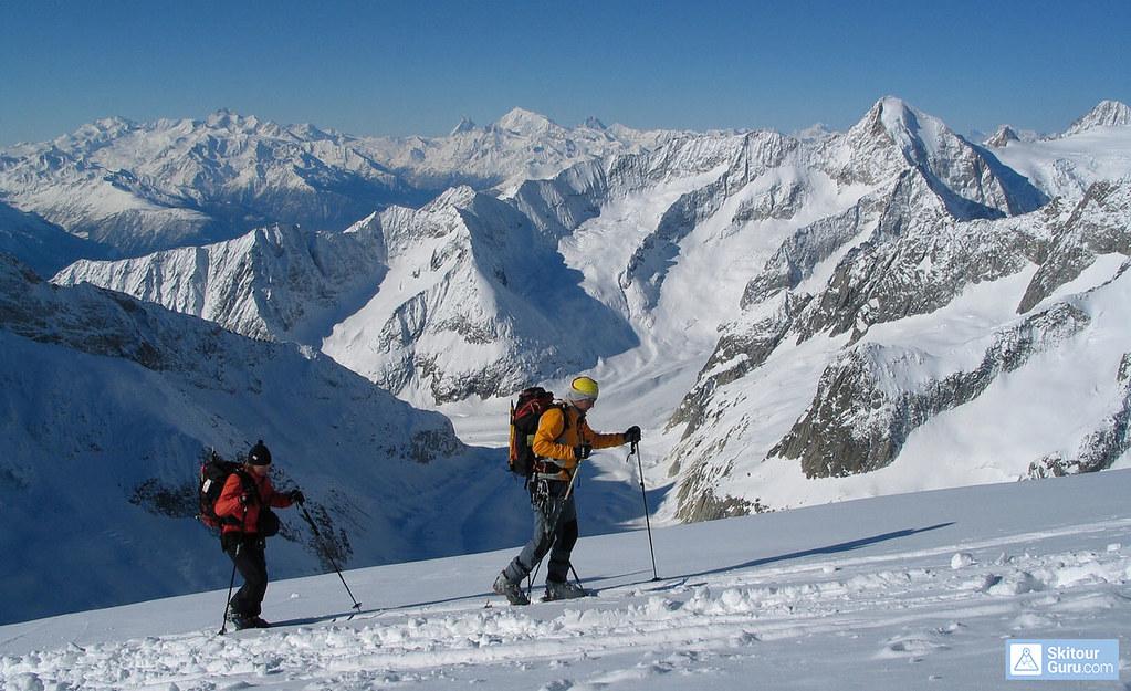 Grosser Aletschhorn Berner Alpen / Alpes bernoises Schweiz foto 11