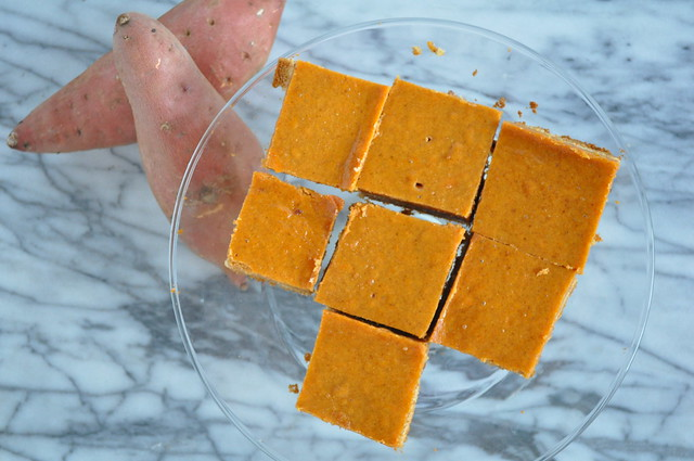 Browned Butter Sweet Potato Pie Squares