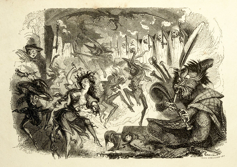 "Thomas Landseer - Illustrations from ""Tam O'Shanter and Souter Johnny, A Poem,"" by Robert Burns, 1830 (3)"