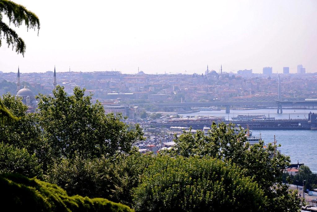 トプカプ宮殿からの眺め