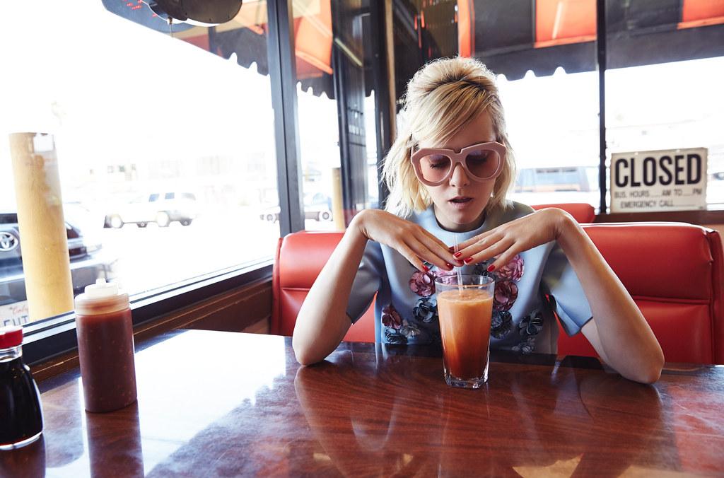 Джена Мэлоун — Фотосессия для «Glass» 2015 – 3