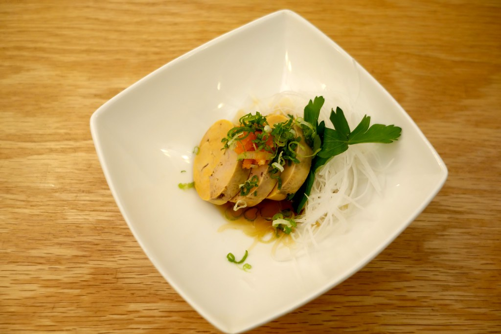Monk Fish Liver Ankimo, Takesushi, Queens, New York