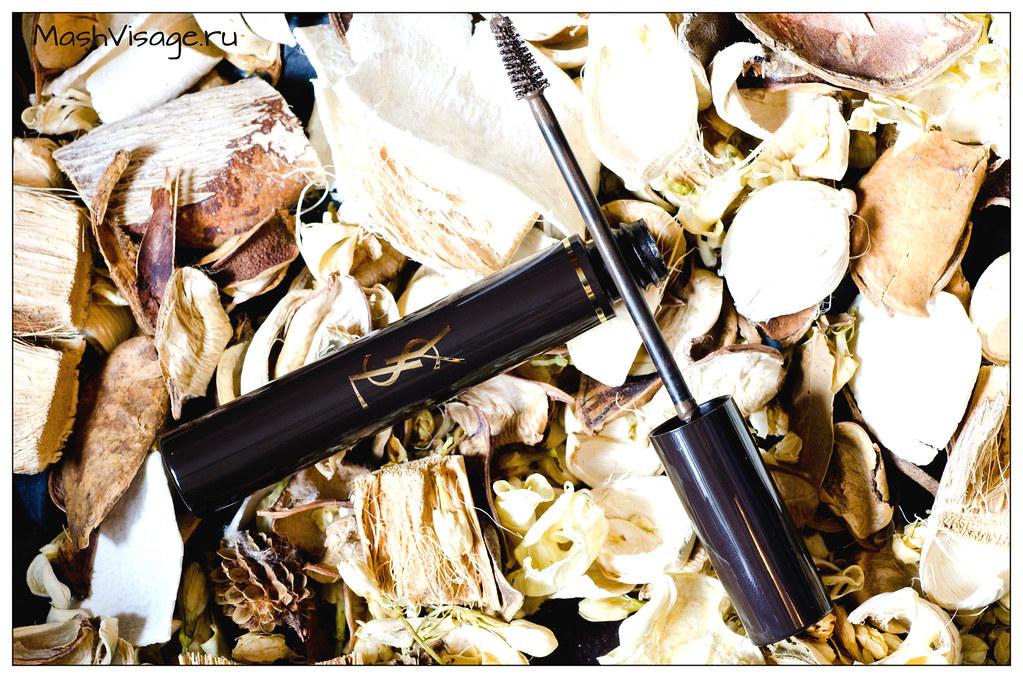 тушь для бровей Couture Brow  Yves Saint Laurent отзыв, свотчи