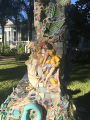 Mosaic Sculpture at the Joan Mitchell Center, Bayou …