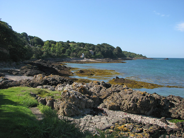 View back to Fliquet Bay