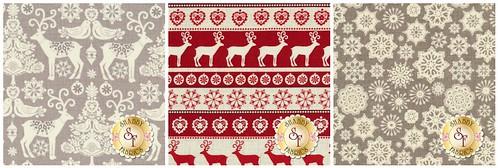 Scandi Christmas fabrics
