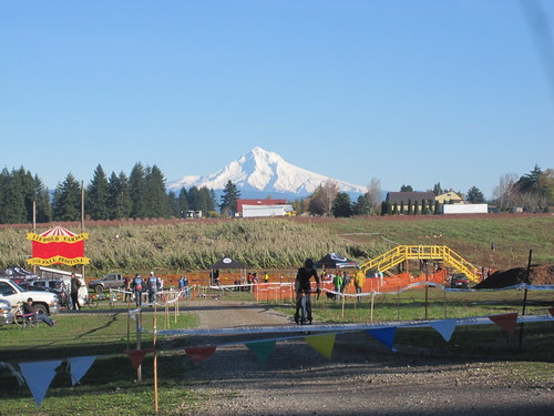 Cyclocross & stratovolcano