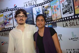 Oriol Estrada y Natalia Cabral. Premios La Silla. Palacio Bellas Artes-4