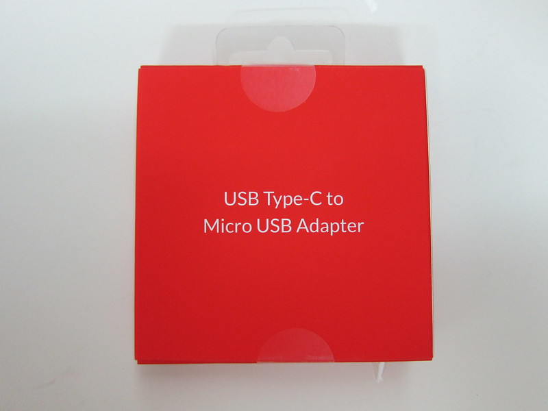 OnePlus USB Type-C Adapter - Box Front