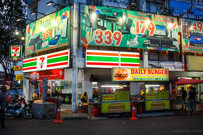 Daily Burger Ramly Burger Stall Gombak