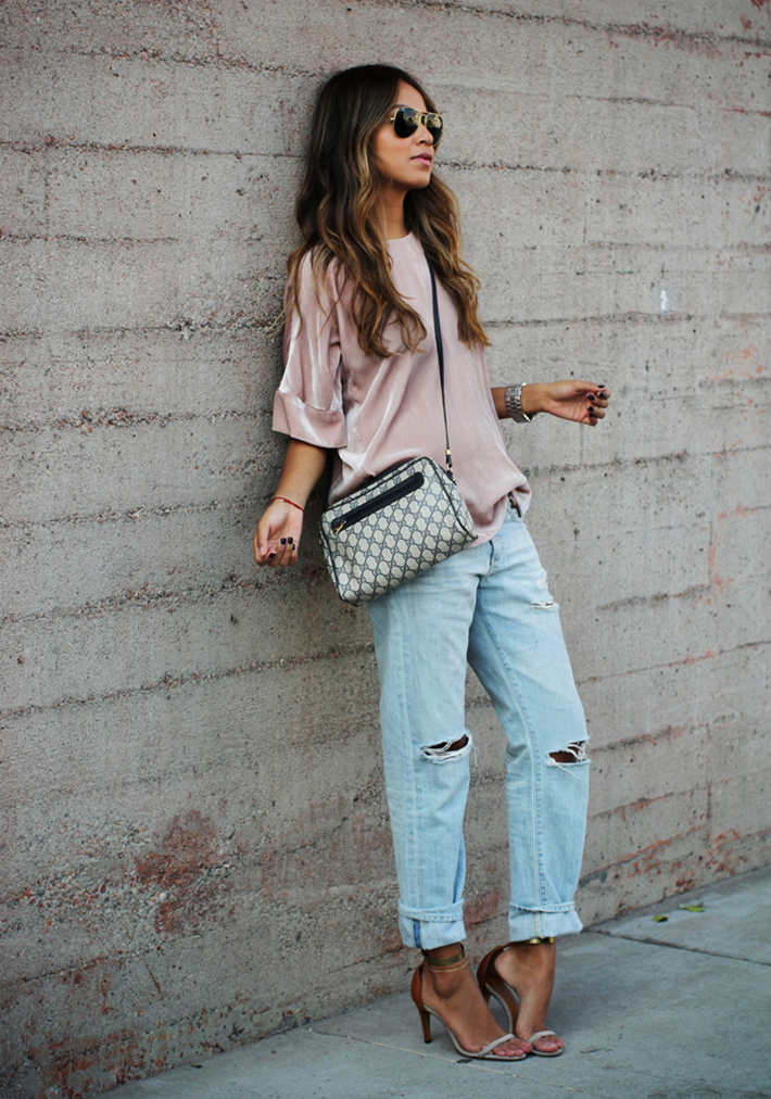 how to wear velvet streetstyle inspiration outfits18