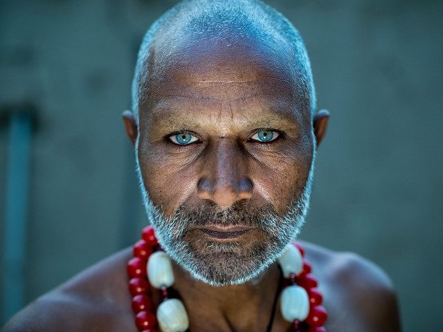 Street portrait of Sufi mystic