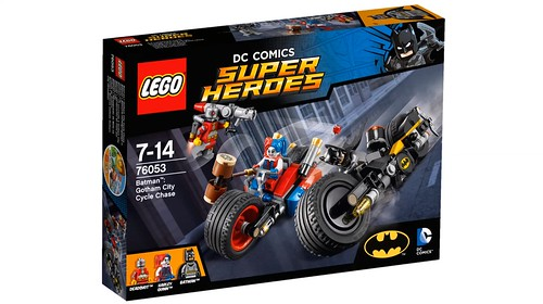 LEGO DC Comics Super Heroes Gotham City Cycle Chase (76053)