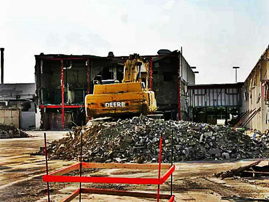 Turfland Mall Demolition -- Lexington, Kentucky