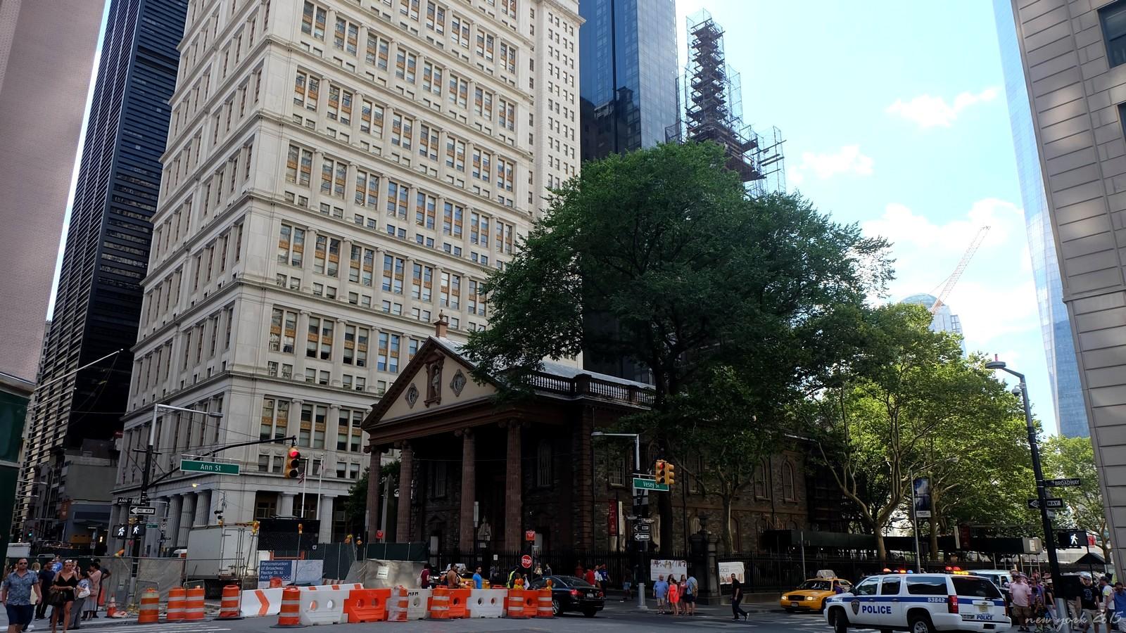 St. Pauls Chapel, Broadway, New York City, USA