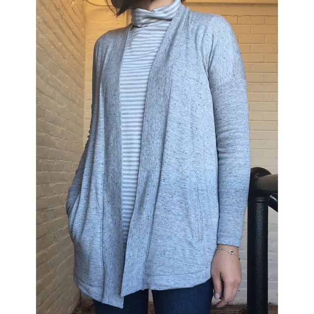 Lou & Grey Signaturesoft Open Cardigan, size XXS regular