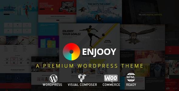 ENJOOY v2.9 – Responsive Multi-Purpose WordPress Theme