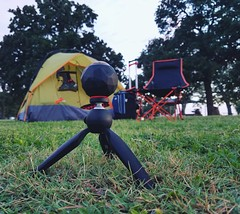 Capturing the moment with @360fly #camping #360fly #campinggear