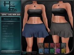 """Hot Fuss """"Sophie"""" Flared Mini Skirt"""